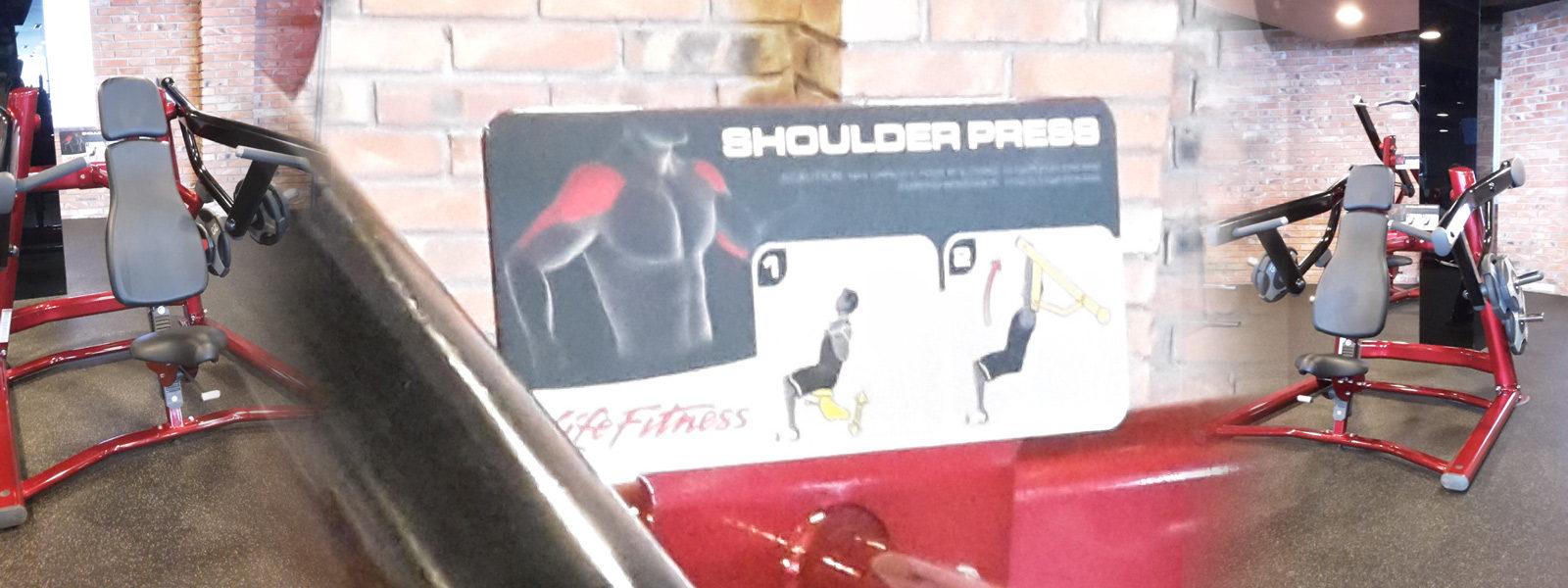 Упражнение за рамо - Раменни преси упражнения за предно рамо